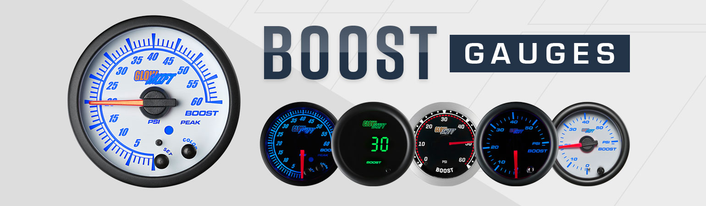 GlowShift Turbo Boost Gauges