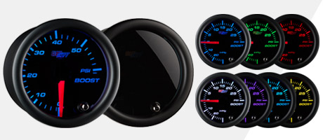 Tinted 7 Color Gauge Series