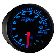 GlowShift Black Elite 10 Color Gauge Series