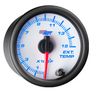 GlowShift White 7 Color Gauge Series
