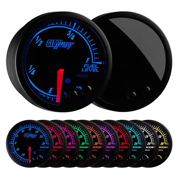 Elite 10 Color Fuel Level Gauge