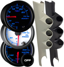2003-2009 Dodge Ram Cummins Custom 7 Color Gauge Package Thumb