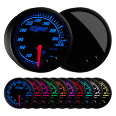 Elite 10 Color Oil Temperature Gauge