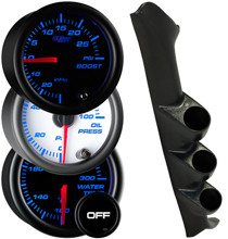 1999-2004 Ford F-150 SVT Lightning Custom 7 Color Gauge Package Gallery