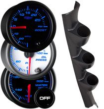 1995-1998 Nissan 240SX Custom 7 Color Gauge Package Gallery