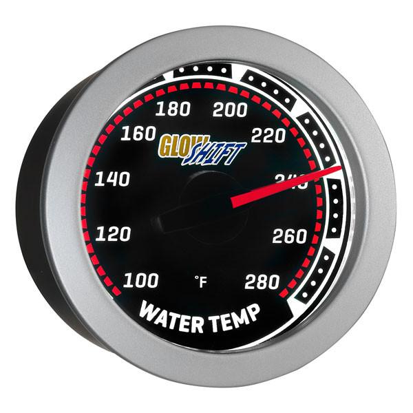 Tinted Water Temperature Gauge