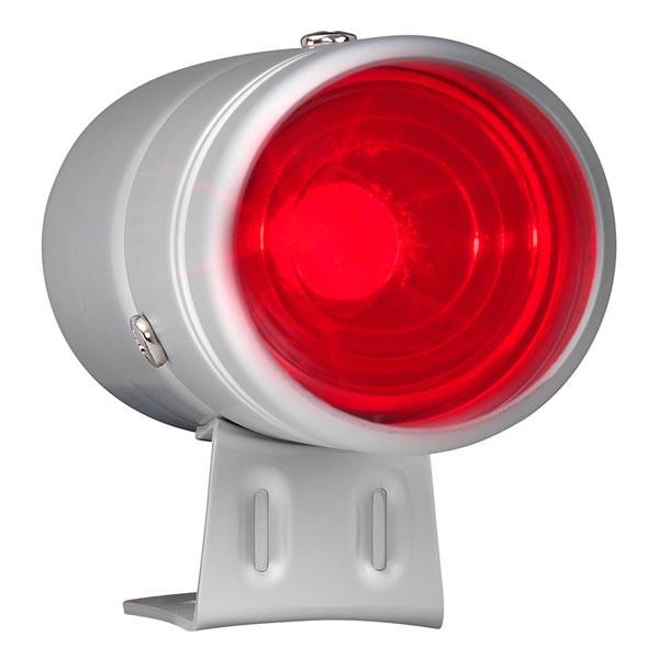 Silver & Red LED Adjustable Shift Light