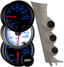 2007-2013 GMC Sierra Duramax Custom 7 Color Gauge Package Gallery