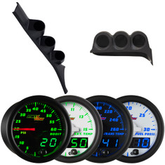 1986-1993 Dodge Ram First Gen Cummins Custom MaxTow Gauge Package