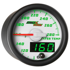 White & Green MaxTow Water Temperature Gauge