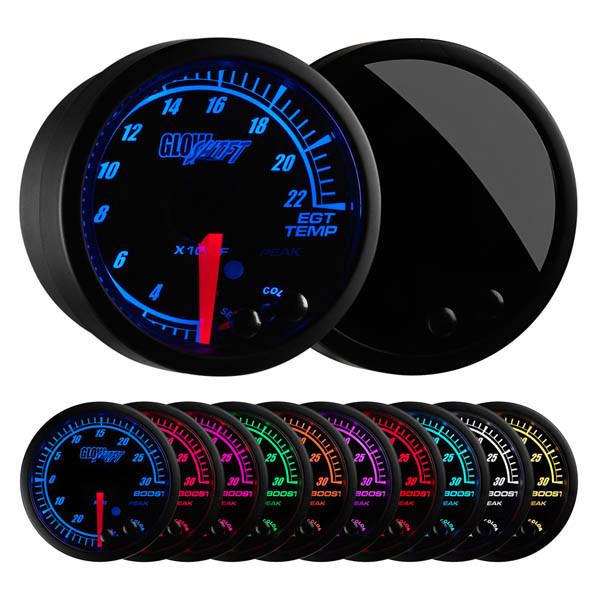 Elite 10 Color 2200° F Exhaust Gas Temperature Gauge