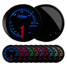 Elite 10 Color BAR Electronic Boost/Vacuum Gauge