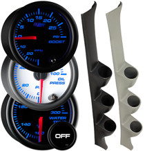 1992-1995 Honda Civic Custom 7 Color Gauge Package Gallery