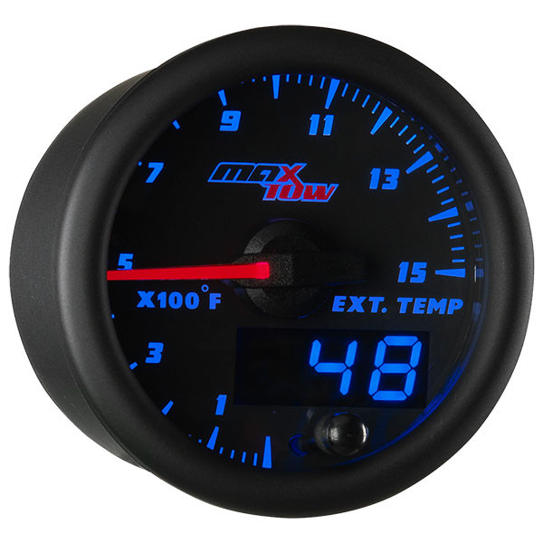 Black & Blue MaxTow 1500° F Pyrometer EGT Gauge