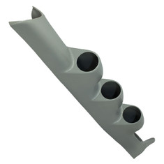 2003-2007 Mitsubishi Lancer Evolution VIII Gray Triple Pillar Pod