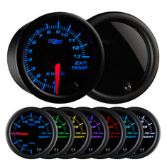 Tinted 7 Color 1300° Celsius Exhaust Gas Temperature Gauge