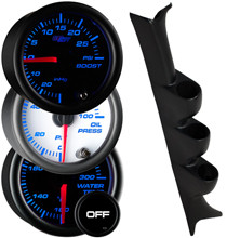 2003-2005 Chevrolet Cavalier Custom 7 Color Gauge Package Gallery