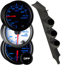1978-1987 Buick Regal Grand National 2 Door G-Body Custom 7 Color Gauge Package Gallery