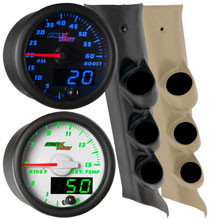 2014-2018 Chevrolet Silverado Duramax Custom MaxTow Gauge Package Thumb