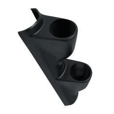 Black Dual Pillar Gauge Pod for 1993-2002 Pontiac Firebird