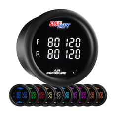 10 Color Digital Quad Air Pressure Gauge