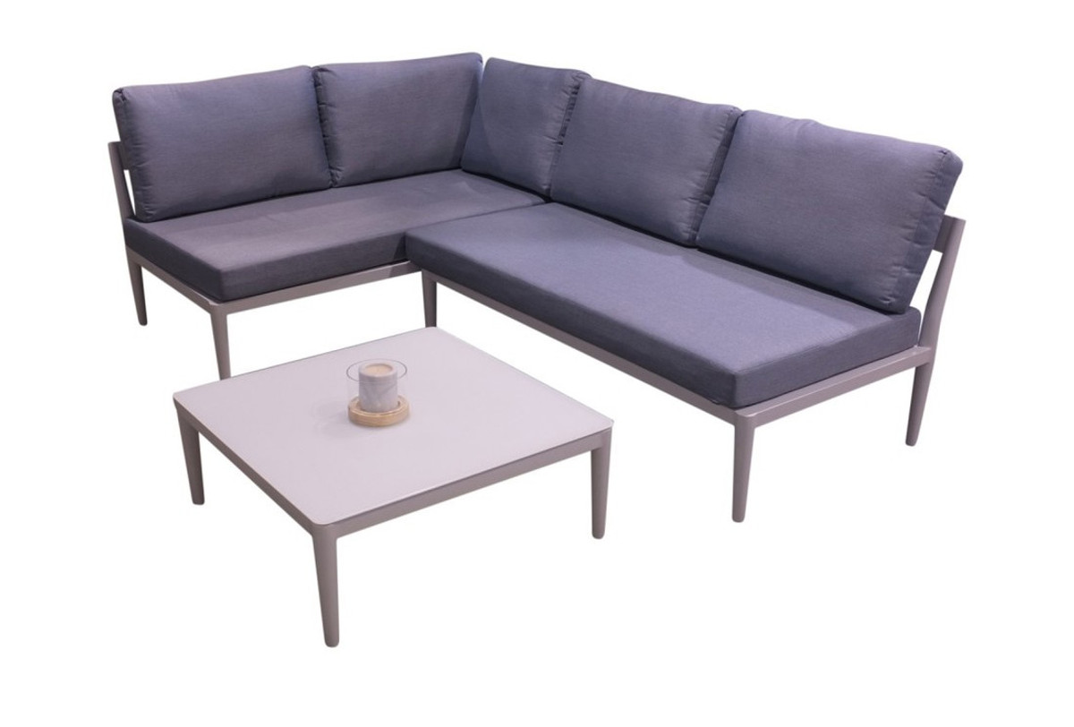 Lounge sofa outdoor  Agora Outdoor Aluminium Sofa Set