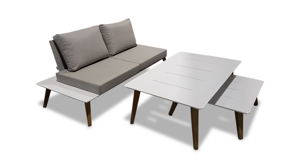 ... Ponza Outdoor Compact 2 Person Sofa ...