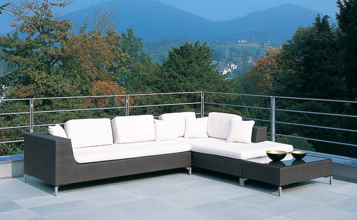 Cubic Bay outdoor modular sofa set