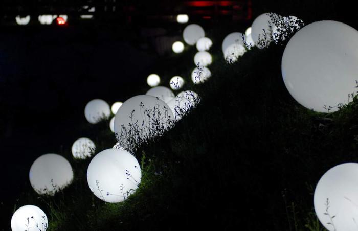 slide outdoor spheres