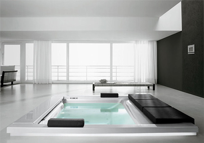 Seaside spa bath T07