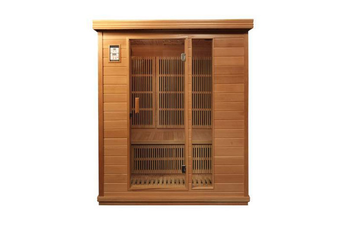 360 carbon FAR infrared sauna model Del Ray 3 person