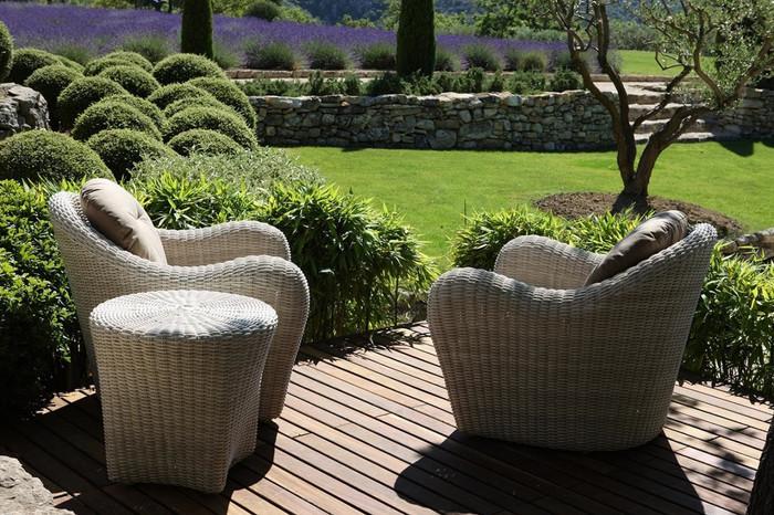 Club outdoor armchair