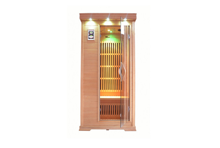 360 carbon FAR infrared sauna model Minime 1 person