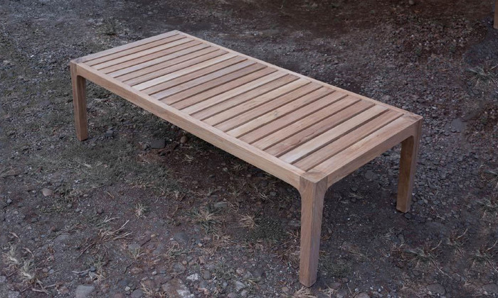 Nairobi outdoor teak coffee table (rectangular)