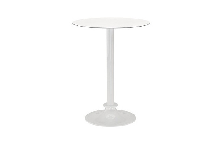 Spark small outdoor bar table with HPL top