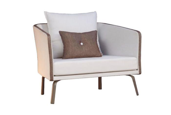 Milo outdoor armchair by Talenti