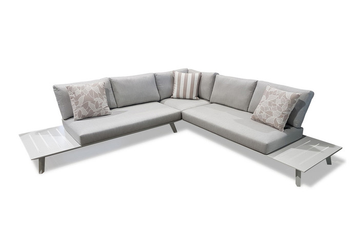 Positano outdoor corner lounge sofa lounge set