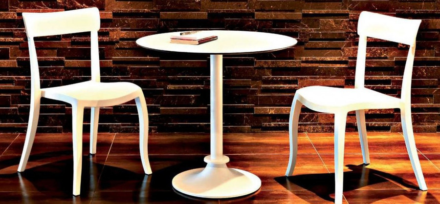 shown with Hera chairs