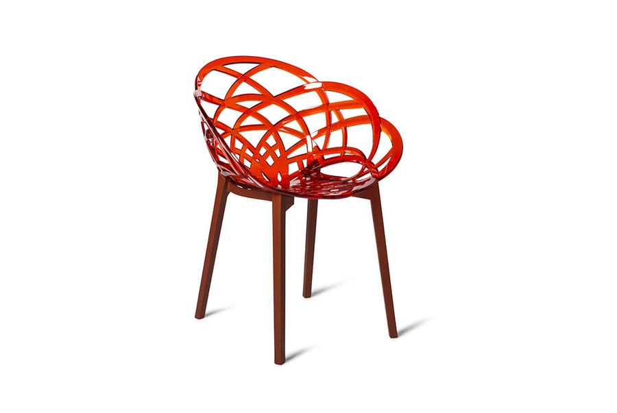 Flora outdoor plastic chair - various colours