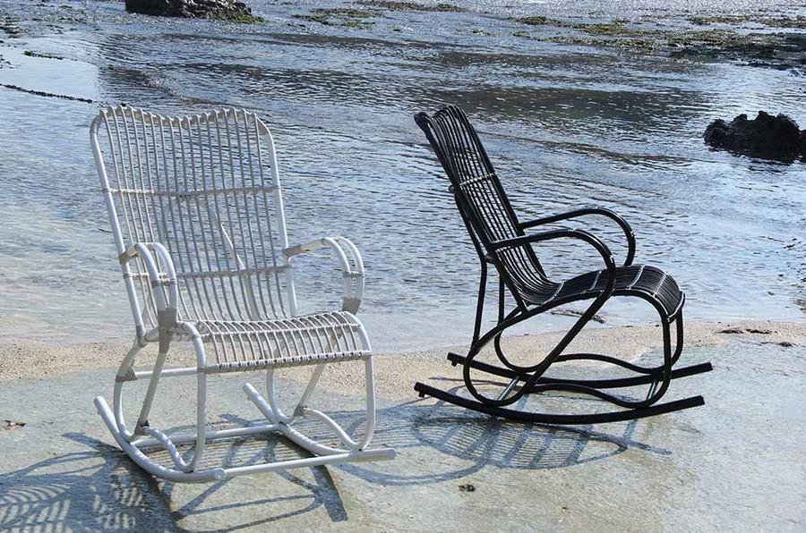Capriccio outdoor rocking chair - 2 colours