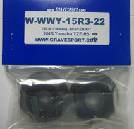 Graves Motorsports R3 WORKS Captive Front Wheel Spacer Kit