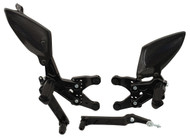 Graves Motorsports Yamaha R1 Adjustable Rearsets 2009-2014