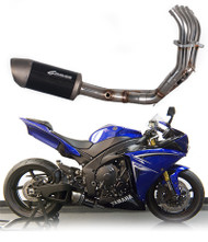 Graves Motorsports Yamaha R1 Full Stainless Steel Low Mount Exhaust System 2009-2014