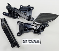 Graves Motorsports Yamaha R6 Adjustable Rearsets 2006-2016