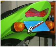 Graves Motorsports Kawasaki ZX-636 + ZX-6RR Fender Eliminator Kit 2003-2004