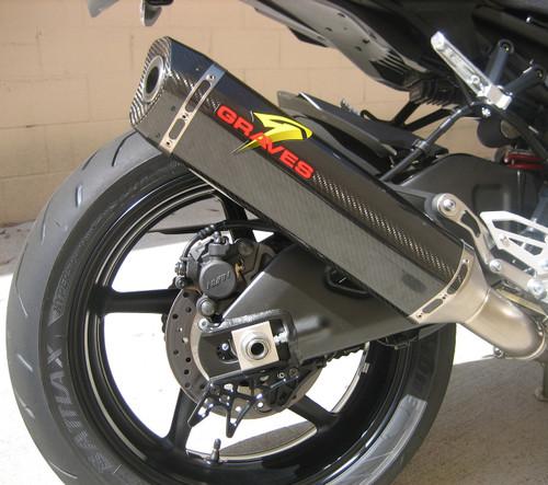 Graves Motorsports Yamaha FZ10 MT 10 Cat Eliminator Exhaust System