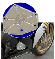 Graves Motorsports Yamaha R1+ FZ-1 + FZ-8 Silver Right Side Engine Case Cover