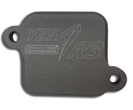 Graves Motorsports Smog Block Off Plates for  the Yamaha  YZF-R3
