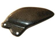 Graves Motorsports Yamaha R6 Carbon Fiber Replacement Heel Guard - Left Side 2006-2016