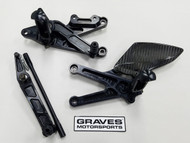 Graves Motorsports Yamaha R6 Fixed Rearsets 2006-2017